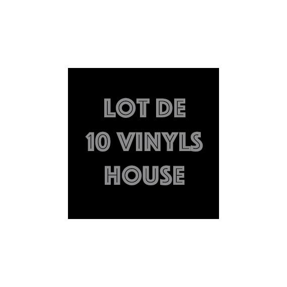 LOT 10 VINYLS HOUSE PACK 1