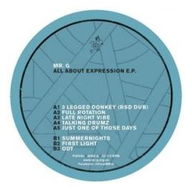 MR.G***ALL ABOUT EXPRESSION EP