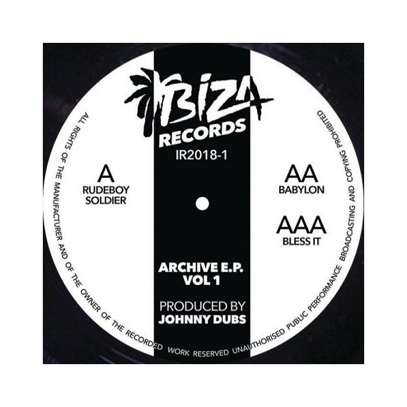 JOHNNY DUBS***ARCHIVE VOL 1