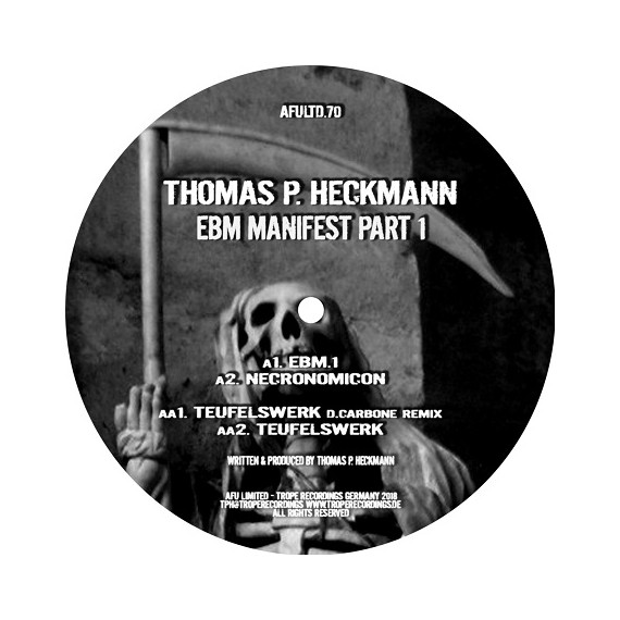 THOMAS P.HECKMANN***EBM MANIFEST PART 1