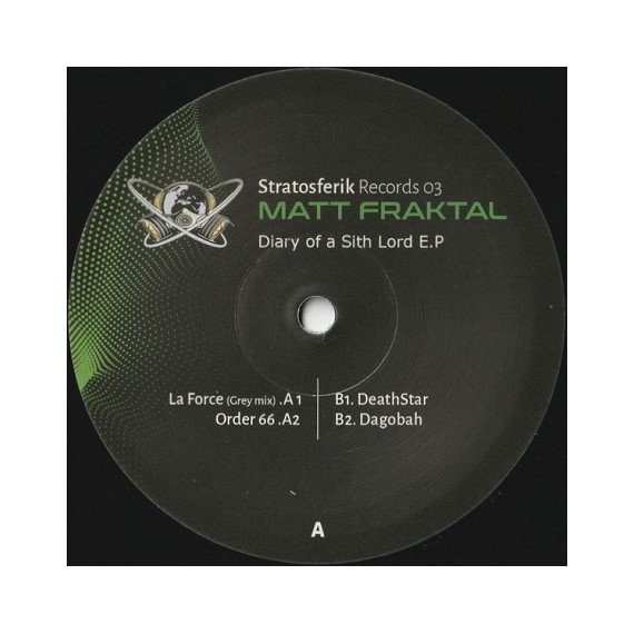 MATT FRAKTAL***DIARY OF A SITH LORD EP