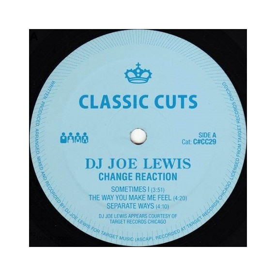 DJ JOE LEWIS***CHANGE REACTION