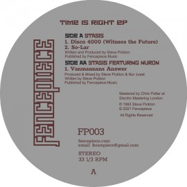 STASIS***TIME IS RIGHT EP