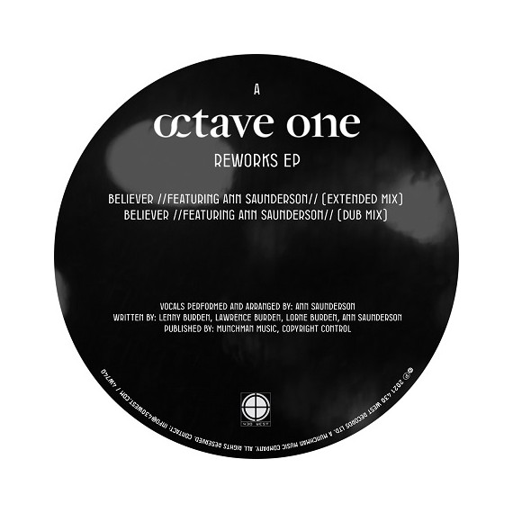 OCTAVE ONE***REWORKS EP
