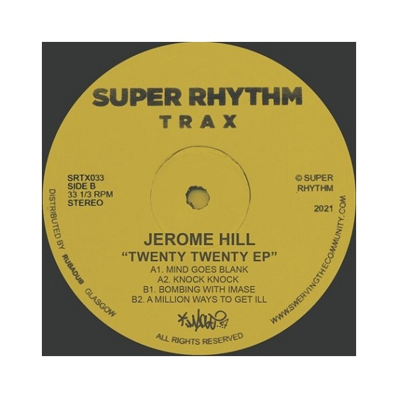 JEROME HILL***2020 EP