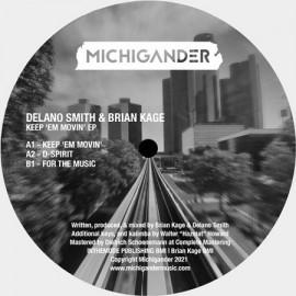DELANO SMITH / BRIAN KAGE***KEEP 'EM MOVIN EP