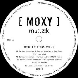 VARIOUS***MOXY MUZIK EDITIONS VOL.1