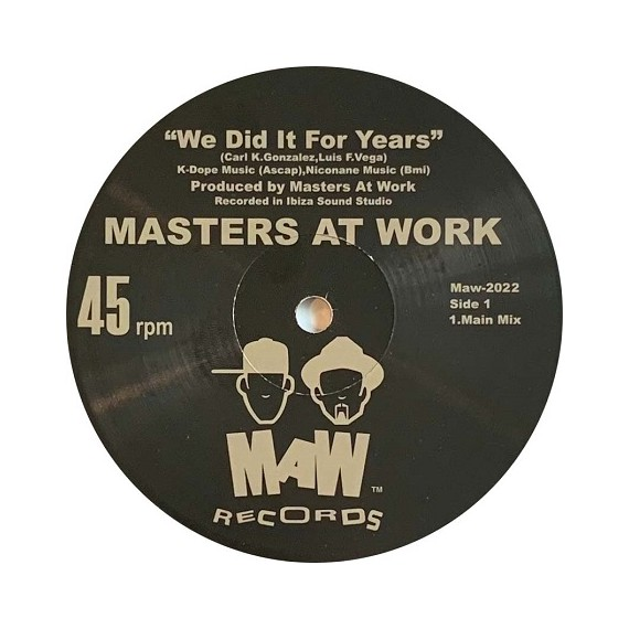 MASTERS AT WORK***WE DID IT FOR YEARS
